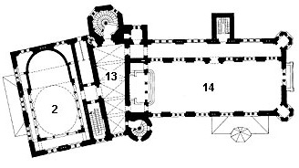 Picture: Plan of the 4th floor